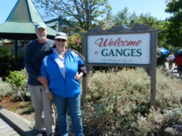Dennis and Bonnie at Ganges