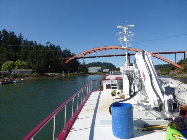 Rainbow Bridge over the Swinomish Channel