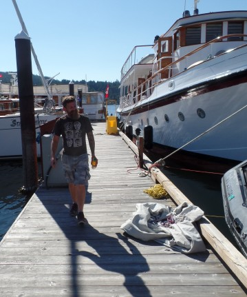 Donnell, our host at Brentwood Bay