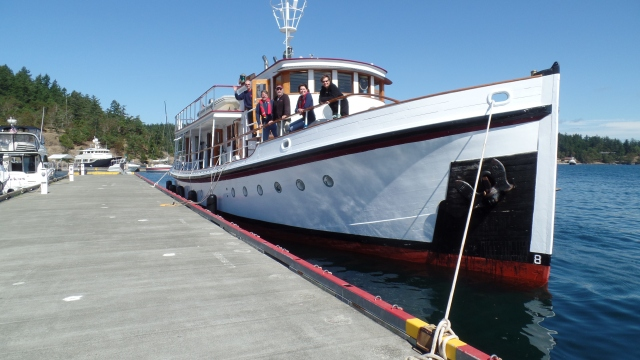 At the Customs Dock at Friday Harbor