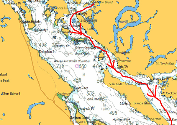 Tenedos-Bay-to-Little-Bull-Passage,-Part-1