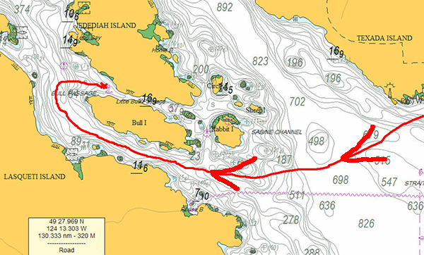 Tenedos-Bay-to-Little-Bull-Passage,-Part-2